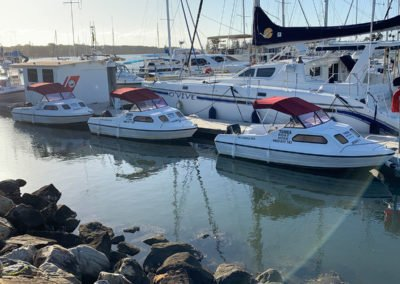 Jenny 7, 8 & 9 - 6 person boat